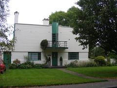 Silver End,  Essex  modernist house