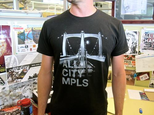 Hennepin Bridge Shirt Main