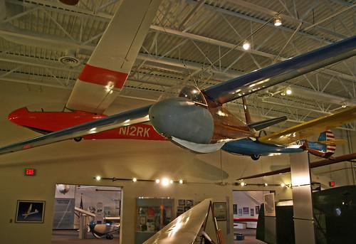 glider sailplane vintageaircraft museumdisplay preservedaircraft historicaircraft museumaircraft nationalsoaringmuseum rossjohnsonrjk5 n79t n3722c rjk5