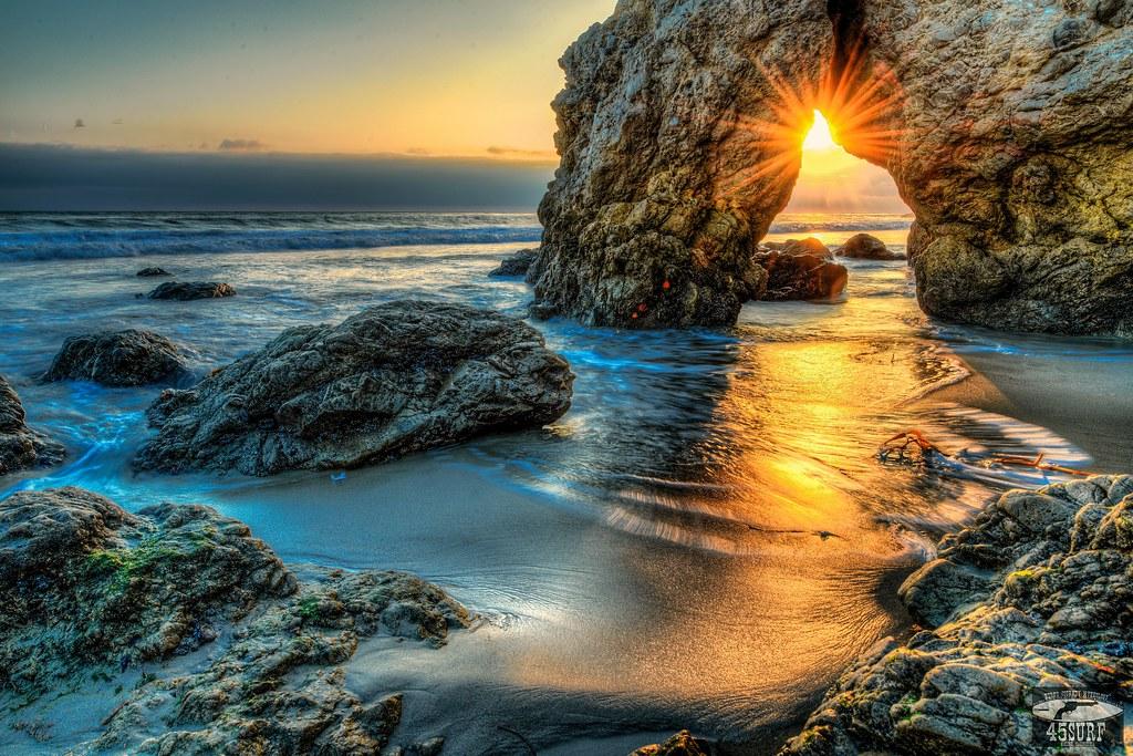 Malibu Storm: Nikon D800 E HDR Socal Malibu Landscape / Seascape Photography 14-24mm f/2.8 G ED AF-S Nikkor Wide Angle Zoom Lens