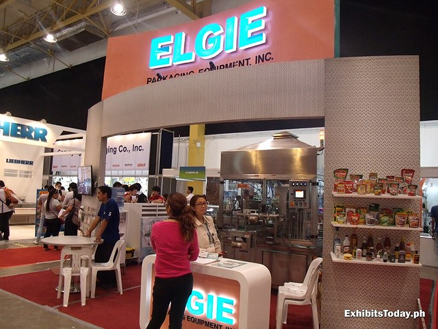 Elgie Exhibit Booth