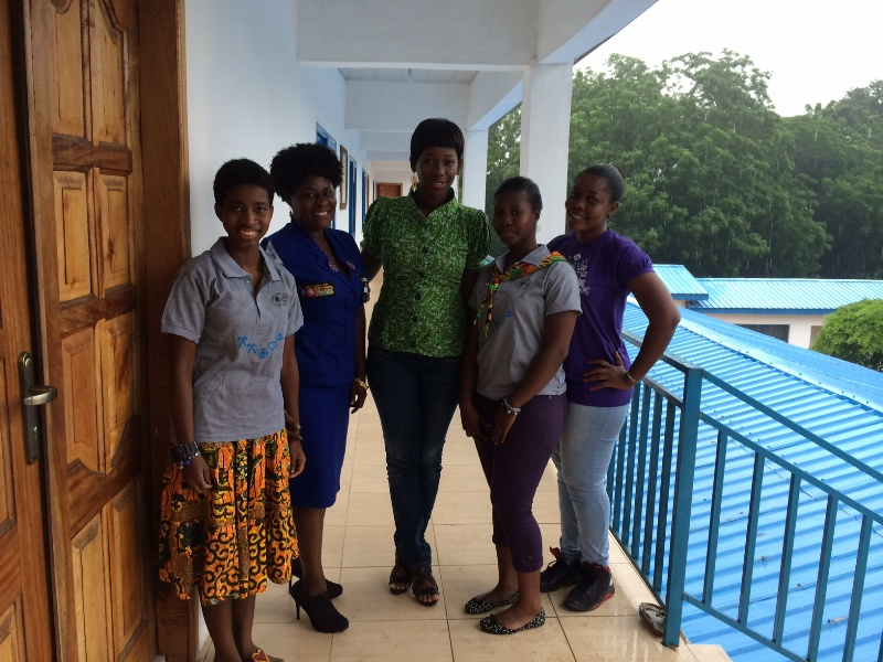 The Ama K. Abebrese Foundation teams up with Ghana Girl Guides Association for the exercise