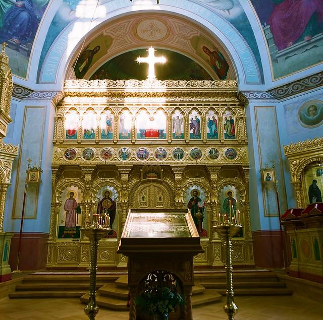 Храм Никольского скита