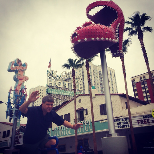 Ron in Downtown Las Vegas #dtlv 08.2014 (square)