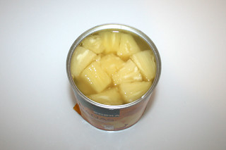 09 - Zutat Ananas / Ingredient pineapple
