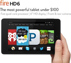 планшет Kindle Fire HD 6
