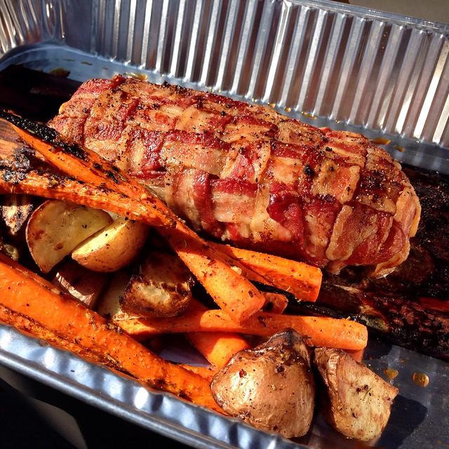 Brunch: Planked Bacon Wrapped Meatloaf | Flickr - Photo ...