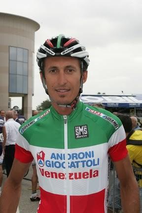 Franco in maglia tricolore