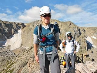 Mountaineering Mavens on Little Matterhorn