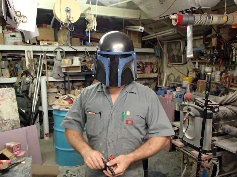 Test Fitting Helmet