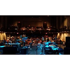Backstage at The Beverly Center in Chicago. Photo courtesy of Diplomats of Drum. www.facebook.com/diplomatsofdrum
