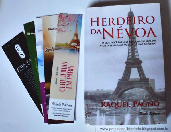 Livro, Herdeiro da Névoa, Raquel Pagno, Editora Chiado, marcadores, sinopse, comprar