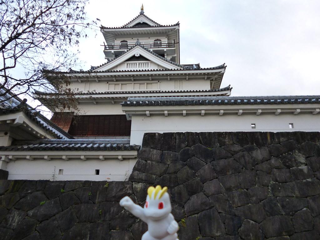 Machop in Kaminoyama, Yamagata 7 (Kaminoyama castle)