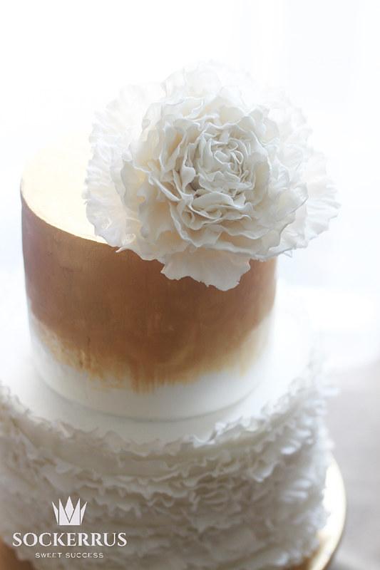 Sockerrus frilly cake