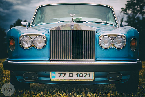 Rolls Royce Show car