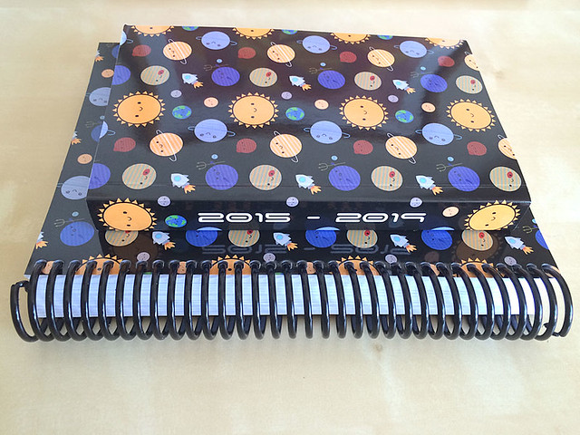 Solar System 5 Year Diaries