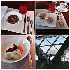 Petite breakfast at 18° in Hyatt Capital Gate #InAbuDhabi