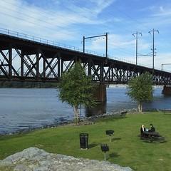 Railroad bridge in Havre de Grace