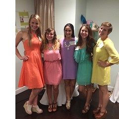 The colors of ΚΔ #pasteltakeover #round2
