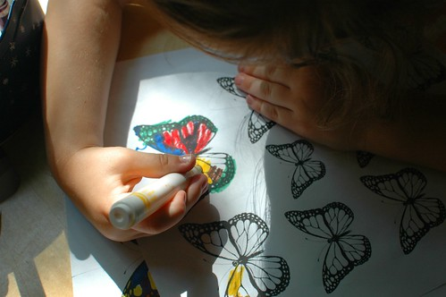DIY Butterfly Stickers