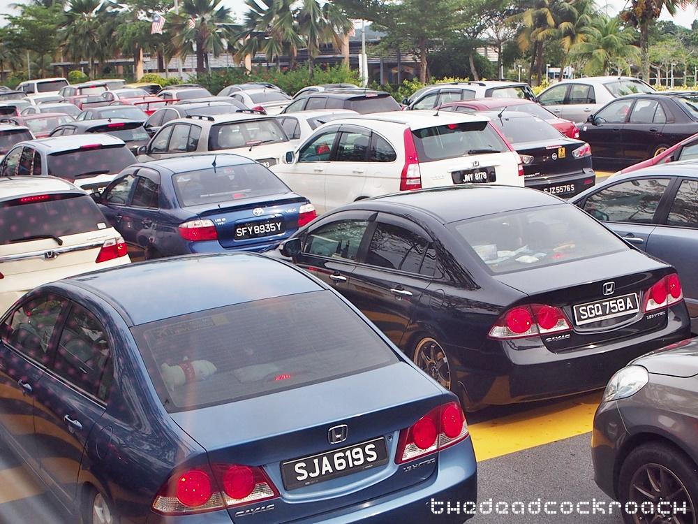 trafffic jam,causeway, malacca, malaysia, travels,  马六甲