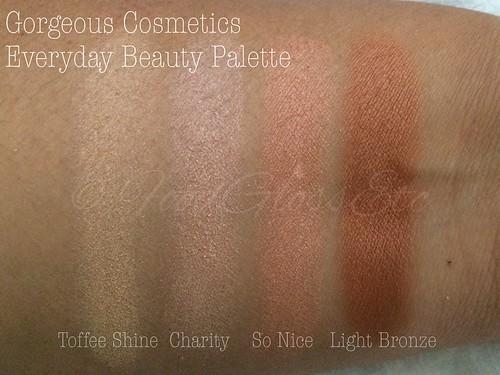 Gorgeous Cosmetics Everyday Beauty Palette #gceverydaybeautypalette