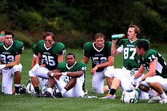 Varsity Football vs Cushing 09-21-14