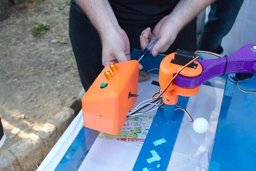 Fixing robotic soccer
