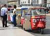 Lisbon,  Piaggio Ape Calessino 'Tuk Tuk' Vehicle