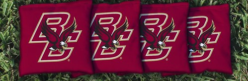 BOSTON COLLEGE EAGLES MAROON CORNHOLE BAGS