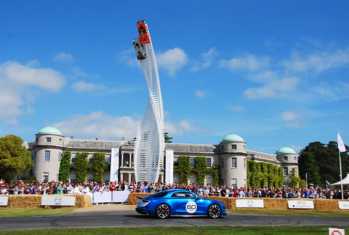 Alpine Celebration Goodwood, Goodwood Festival of Speed 2015