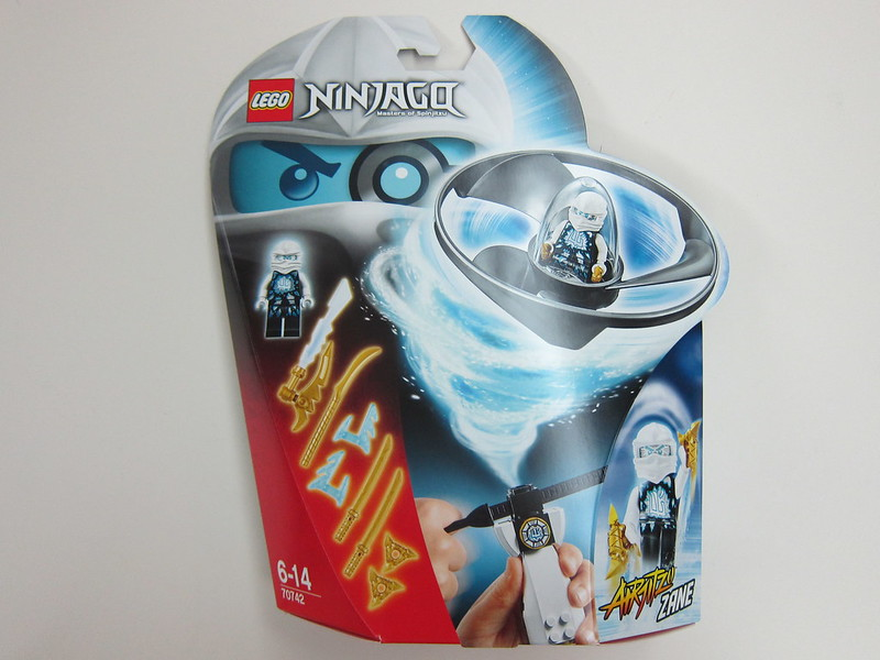70742 - LEGO Ninjago Airjitzu Zane Flyer - Front