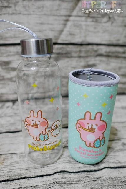 黑人牙膏╳卡娜赫拉 歡樂玻璃水瓶 (9)