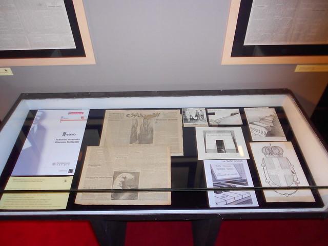 la teca Scalarini, 1924-2014  Attualità di Giacomo Matteotti