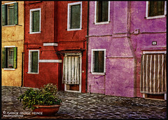 Travel photography Venice colors  of Burano