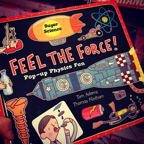 Sometimes an item jumps out from the shelf and screams BUY ME. This #book did just that. #physics #popup #childrensbook is so awesome!