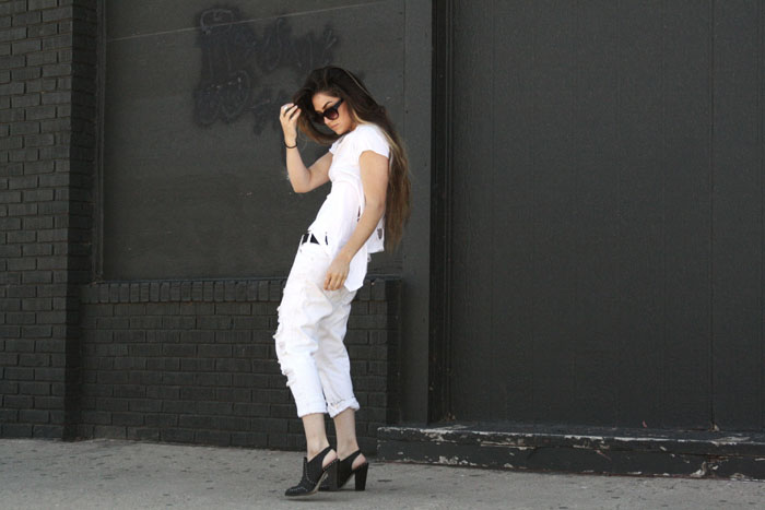 Fringe of the Cro | All White Outfit in One Teaspoon