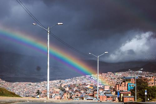 sunset art arcoiris canon landscape rainbow colombia bogota heaven bolivar ciudad sierra cielo periferia morena formato 19k formato19k