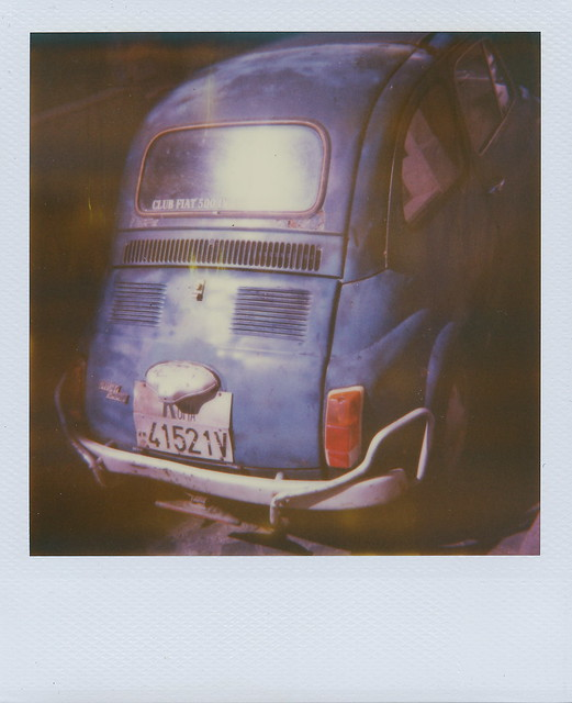 blue cinquecento
