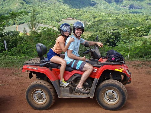 Moorea atv tour honeymoon