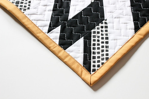 Anna's Haphazard Chevron Mini Quilt