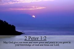 2 Peter 1:2 nlt