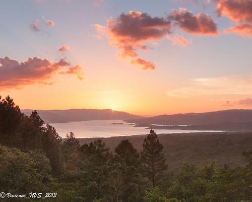 sunset lake costarica arenal lakearenal arenalobservatorylodge