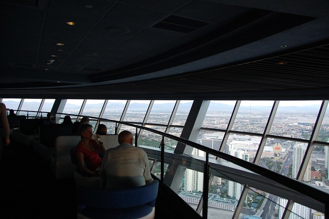 View from the Stratosphere Level 107 Lounge