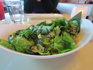 Brussels Sprouts at Departure