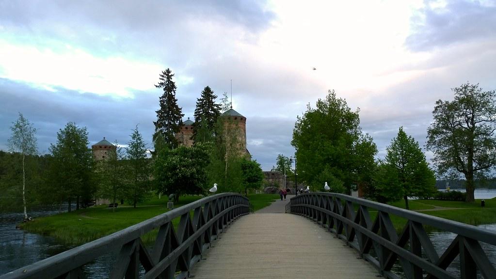 Olavinlinnan silta 2014