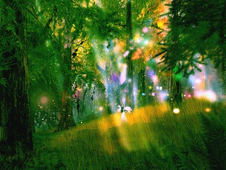 Faeries of the Glade--Summer