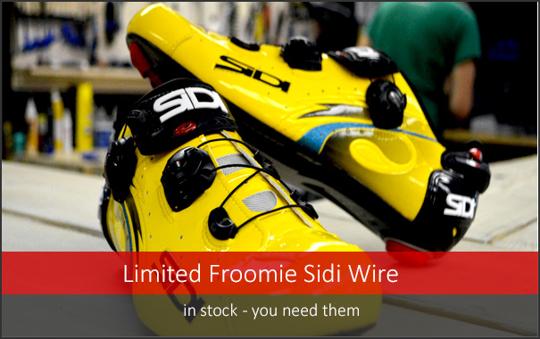 In Stock, super limited Sidi Froome Edition