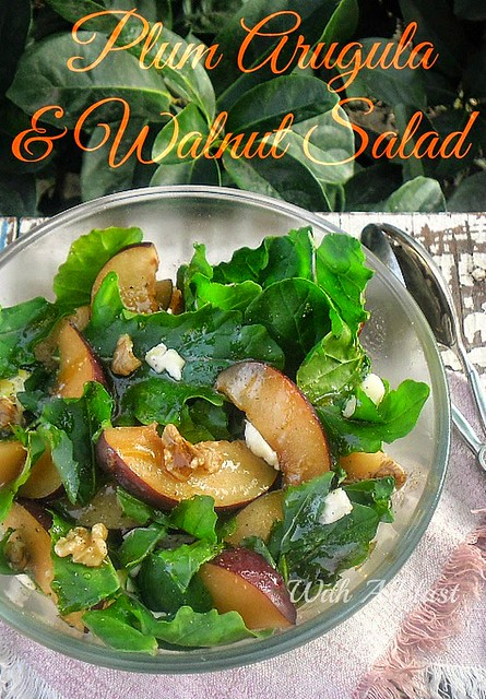 http://withablast.blogspot.com/2014/05/plum-arugula-and-walnut-salad.html