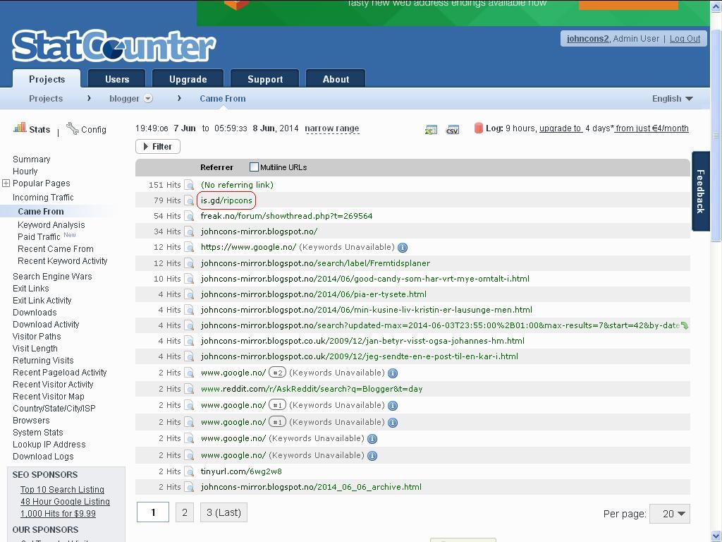 nettmobbing statcounter